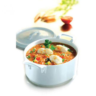 Picture of Revol Belle Cuisine Oval Casserole With Lid 1L