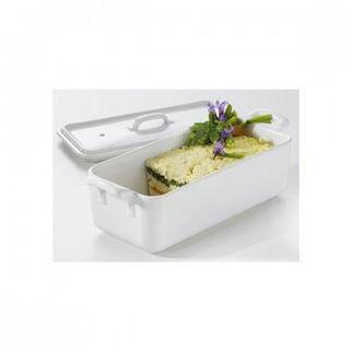 Picture of Revol Belle Cuisine Rectangular Terrine White White 600ml