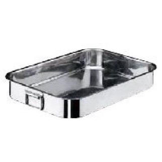 Picture of Roast Pan 18 10 500x300x90mm W 2 Drop Hdl Paderno