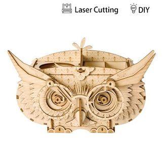 Picture of Robotime 3D Puzzle Owl Box