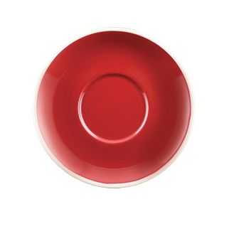 Picture of Rockingham Cappuccino Saucer Red