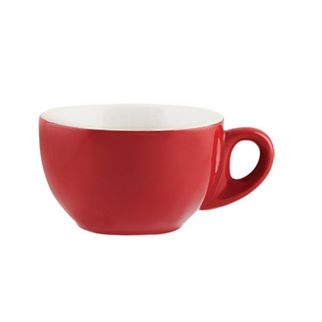 Picture of Rockingham Latte or Megaccino Cup Red 330ml