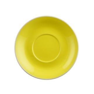 Picture of Rockingham Latte or Megaccino Saucer Yellow