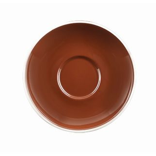 Picture of Rockingham Long Black Saucer Brown