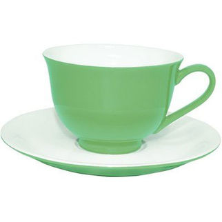 Picture of Rockingham New Bone Mint Green Tea Cup 280ml