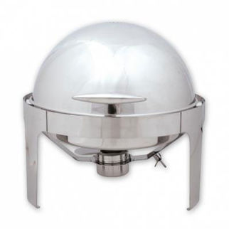 Picture of Roll Top Chafer Round 180 Degree Roll Top