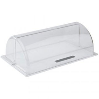 Picture of Rolltop Cover With Chrome Plated Handle Clear