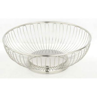 Round basket wire diameter 175mm height 60mm 8 off ea - Diametre cercle basket ...