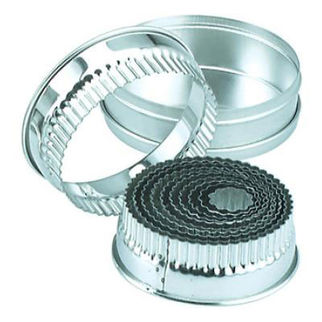 Picture of Round Crinkled Cutters 11pc