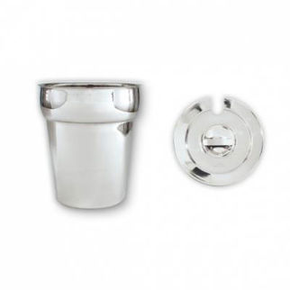 Picture of Round Insert 18 8 Stainless Steel 11000ml