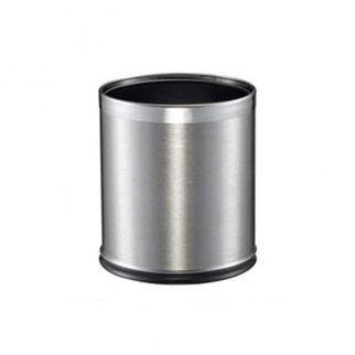 Picture of Round Stainless Steel Brushed Bin With Liner 255mm