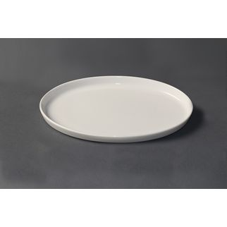 Picture of Royal Porcelain White Album Oval Plate Stackable Middle 285x180x15mm