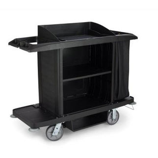 Picture of Rubbermaid Full Size Housekeeping Cart Protective security hood to suit SAF0048