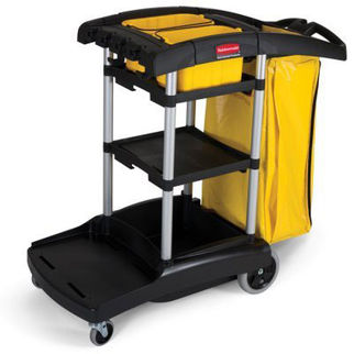 Picture of Rubbermaid High Capacity Janitor Cart 1118mm