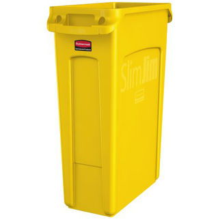 Picture of Rubbermaid Slim Jim Container 87l Yellow