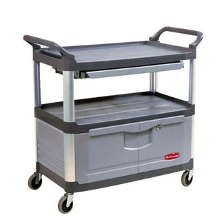 Picture of Rubbermaid Xtra Instrument Cart Grey