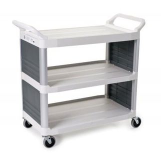 Picture of Rubbermaid Xtra Off White Utility Cart 960mm