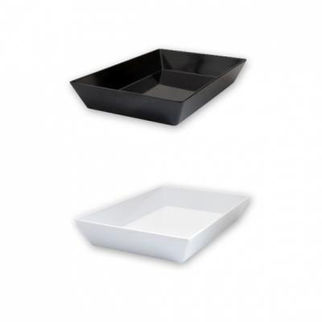 Picture of Ryner Melamine Deep Dish 450x300x70mm  black