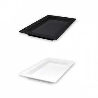 Picture of Ryner Melamine Deep Platter 500x310x40mm  white