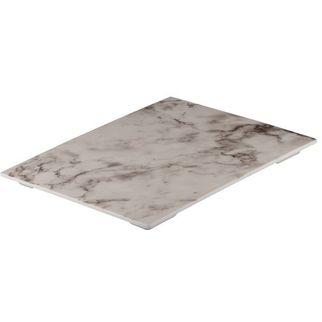 Picture of Ryner Melamine Platter White Marble 325*265mm