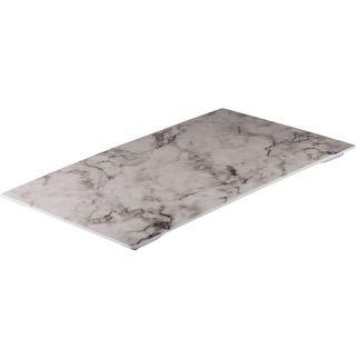 Picture of Ryner Melamine Platter White Marble 530*325mm