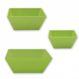 Picture of Ryner Melamine Square Bowl Lime 240x240mm