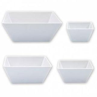 Picture of Ryner Melamine Square Bowl White 180x180mm