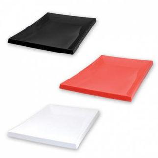 Picture of Ryner Melamine Sushi Platter 395x265mm  white