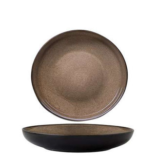 Picture of Round Bowl Plate 230mm Rustic Chestnut