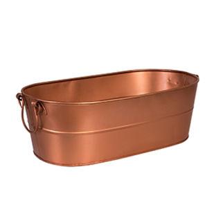 Picture of Moda Brooklyn Beverage Tub Copper Satin (Plain)