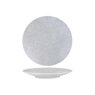 Picture of Luzerne Zen Grey Web Round Coupe Plate 155mm