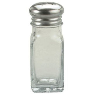 Picture of Salt or Pepper Glass 60ml S/S Top