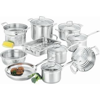 Picture of Scanpan Commercial 10 Piece Cookware Set