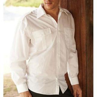 Picture of Service Shirt Long Sleeve Blue(XXXL)