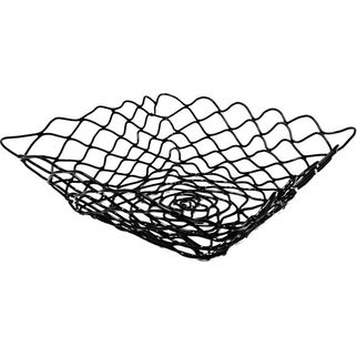 Picture of Serving Basket Square Black Wire
