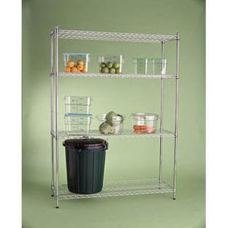Picture of Shelving Kits 1850 High Black Finish