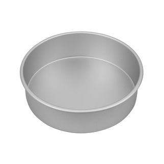 Picture of Silver Anodised Round Cake Pan 250x75mm