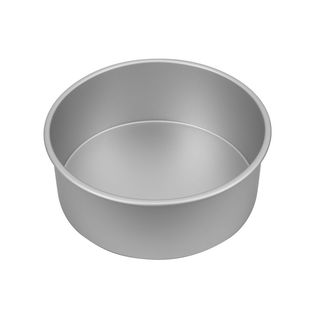 Picture of Silver Anodised Round Deep Pan 255x100mm