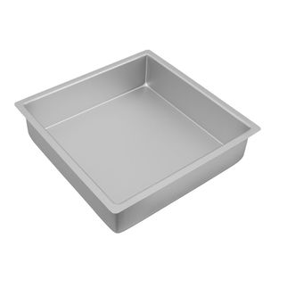 Picture of Silver Anodised Square Cake Pan 275x75mm