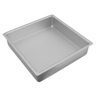 Picture of Silver Anodised Square Cake Pan 305x75mm