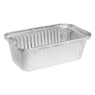 Picture of Silver Foil Deep Takeaway Tray 840ml