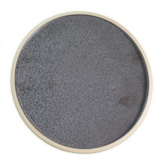 Picture of Soho Round Plate Speckle Black 200mm