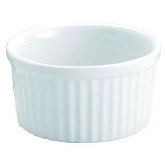 Picture of Souffle Dish White 85mm Vitroceram