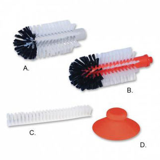 Picture of Spare Part Centre Brush For Single Glass Brush Aluminium Body B