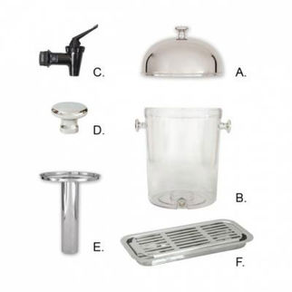 Picture of Spare Parts For Juice Dispenser acrylic body - b