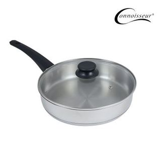 Picture of Stainless Steel Frypan 28cm with glass lid