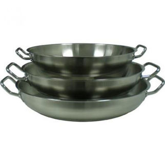 Picture of Stainless Steel Paella Pan 18/10 S/Steel 400mm