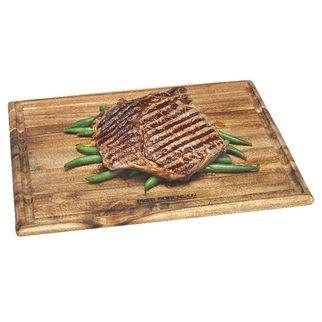 Picture of Acacia Wood Steak Board with Juice Well 300 x 250 x 12.5mm