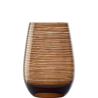 Picture of Stolzle Twister Tumbler Brown 470ml