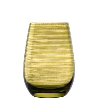 Picture of Stolzle Twister Tumbler Olive 470ml